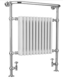 BOXED VICTORIA MIDI 8 SECTION TRADITIONAL TOWEL WARMER