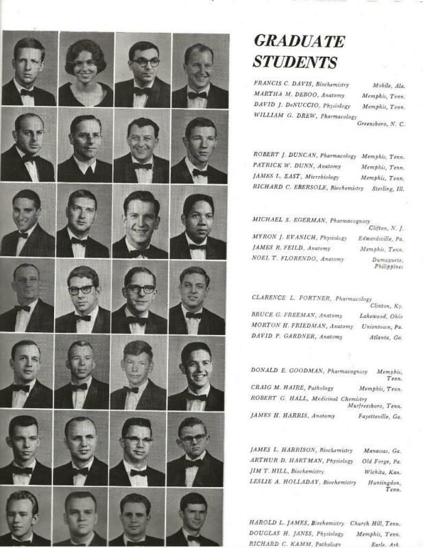 1968 UNIVERSITY OF TENNESSEE MEDICAL UNITS YEARBOOK, ASKLEPIEION, MEMPHIS, TN