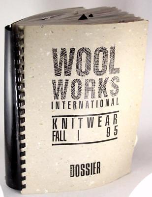 Wool Works Fashion Dossier International Knitwear 1995 Fall Fashion Forecasting