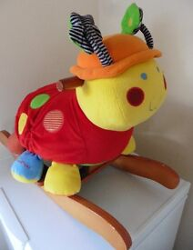 Mamas and Papas musical rocking snail £8 collection from Shepshed.