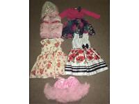 Girls dresses bundle 2-3 years.(Little miss,John Rocha,Matalan)