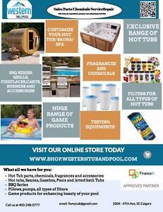 Hot tub and pool parts for all makes and models