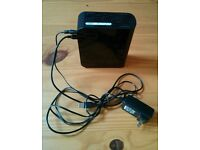 Western Digital MyBook USB Hard Drive 500GB. PC or MAC. Perfect. Black. Backup software inc.