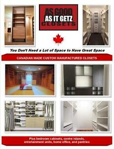 HOW TO GET THE BEST DEAL ON A CLOSET!!