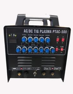 Equipment Innovations  PTAC-500 Pulse AC/DC TIG ARC and a Power full PLASMA CUTTER severs 3/4 inch mild steel
