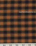 Primitive Plaid Fabric