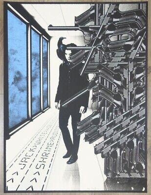 2012 Jack White - Los Angeles III Silkscreen Concert Poster s/n by Rob Jones Jack White Iii