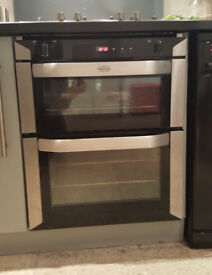 Belling Dual Fuel Integrated 60cm Oven