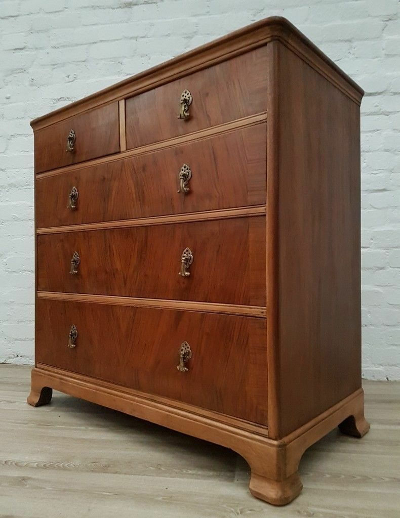 the best attitude 6a134 cde63 1940's Stripped Mahogany Chest Of Drawers (DELIVERY AVAILABLE FOR THIS ITEM  OF FURNITURE) | in Glasgow City Centre, Glasgow | Gumtree