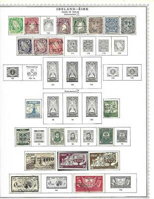 Used Ireland Collection On Minkus Album Pages - SEE!!!