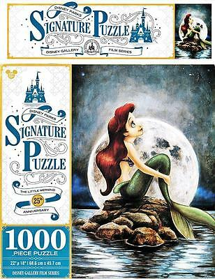 DISNEY PARKS SIGNATURE PUZZLE THE LITTLE MERMAID 25TH ANNIVERSARY 1000 PCS