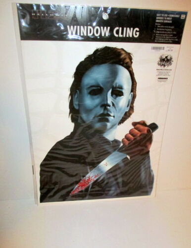 MIRAMAX MICHAEL MYERS HALLOWEEN H20 MOVIE WINDOW CLING THE SHAPE HORROR NEW PACK