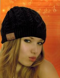 Bluetooth stereo Beanie hat with mic works with any phone 10% discount until 20th Dec