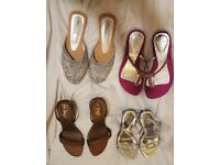 Ladies Shoes (4 Pairs) *** Hardly Worn / Next to New Condition!!! / Size 3 ***