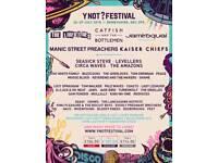 Ynot festival ticket thursday-monday