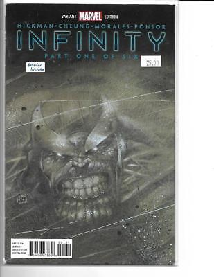 infinity 1 Party Retailer Capital City Variant Marvel FREE SHIP Kubert Cover - Party City Shipping