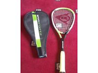 DUNLOP Squash Racket Tempo Graphite with Cover