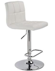 513044be4ac2 LORD SELKIRK FURNITURE - MAX GAS LIFT STOOL - WHITE