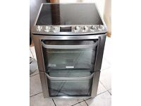 AA ENEGRY ARTED Electrol;ux 60cm, double oven electric cooker FREE DELIVERY