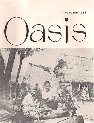 Oasis October 1962 Social Security Administration Newsletter