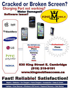 King Mobile: Cell Phone Repair | Unlocking | Computer Service Cambridge Kitchener Area image 7