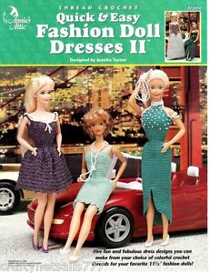 Quick-Easy-Fashion-Doll-Dresses-II-Crochet-Book