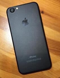 Matte Black - Apple iPhone 6 (7) - 16GB - EE