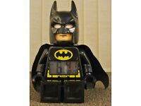 LEGO Heroes Batman Figure Alarm Clock
