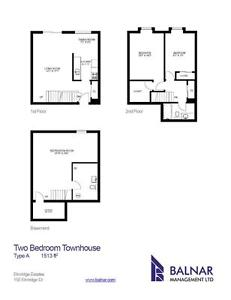 Townhouses in Kitchener! 2 bedrooms available Kitchener / Waterloo Kitchener Area image 8