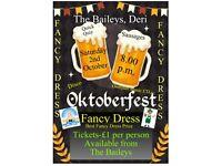 Oktoberfest at The Baileys, Deri