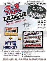 KTS Hockey 3 on 3 Tournament