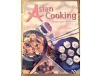 Asian Cooking Recipes From The Far East Large Hardback Cookbook