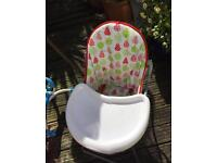 Baby high chair unisex
