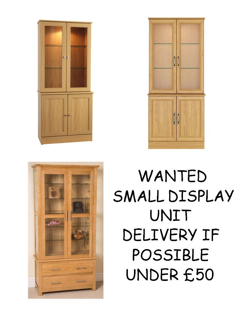 WANTED WALL DISPLAY UNIT