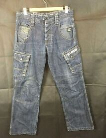 """2 Pairs Mens Worker Jeans 34x30-32"""""""