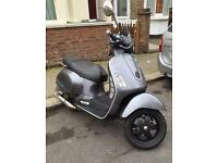 vespa gt 200 registered as 125
