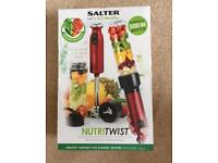 Brand new salter Nutri twist