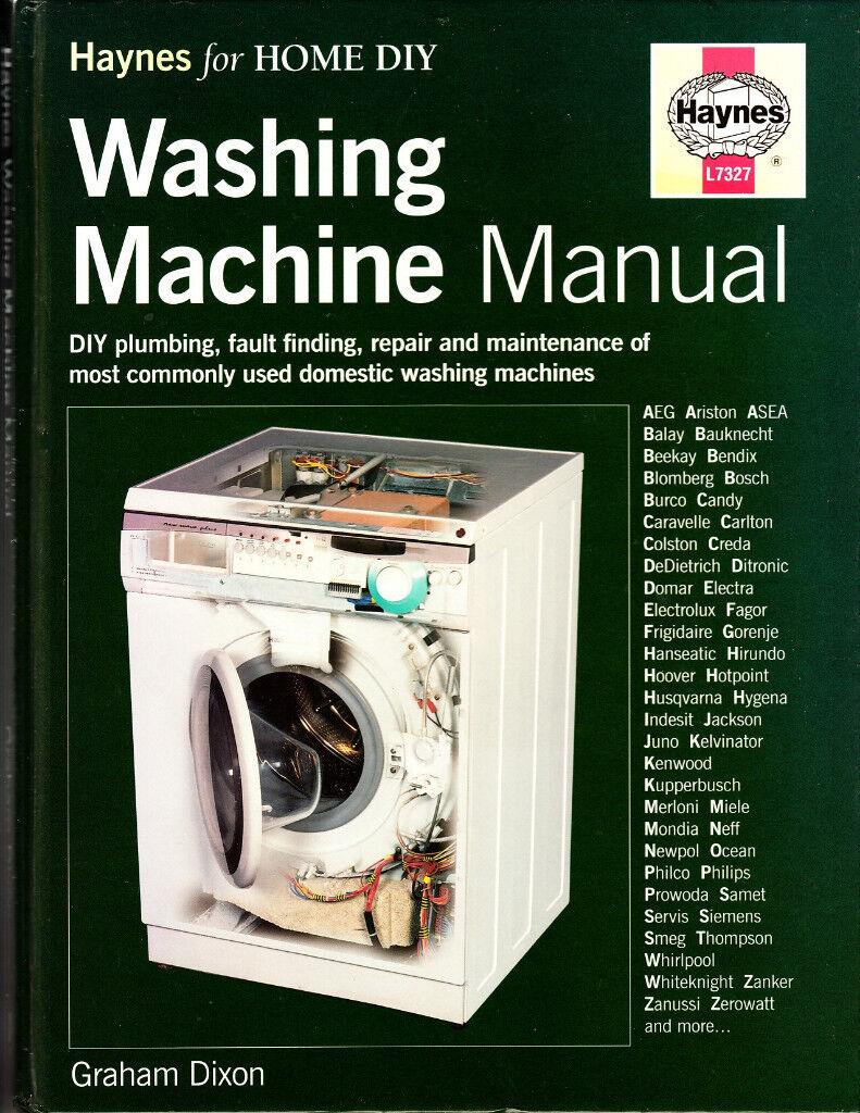 Haynes Washing Machine Manual For Diy Repairs In Stockport