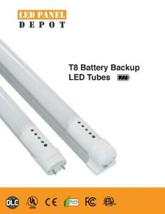 Emergency Battery backup rechargeable  led tube light T8 2/3/4ft available -rebate avaialbe