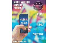 Car Valeting - Mobile all over Glasgow, Paisley & Barrhead or at our unit in Glasgow - 0141 266 0048