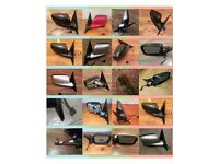 BMW e46 coupe/convertible wing mirrors - All wiring variants, colours and sides available