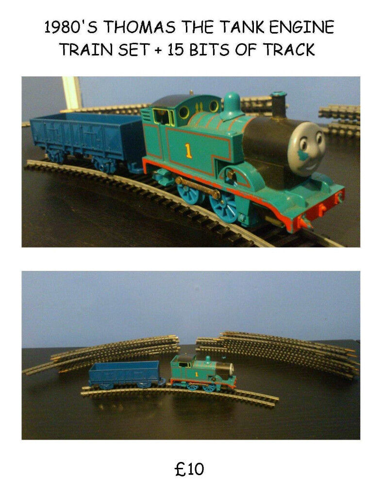80'S THOMAS THE TANK AND TRACK
