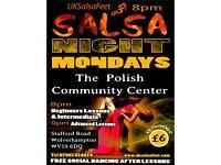 Monday Salsa Lessons (wolverhampton)
