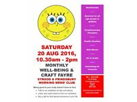 Monthly Well-Being & Craft Fayre