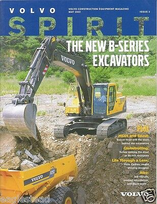 Equipment Brochure - Volvo - B Series Excavators - Backhoe Loader - 2002 E1072
