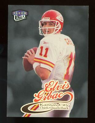 1999 Fleer Ultra Platinum Medallion Elvis Grbac /99
