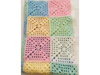 Baby cot blanket