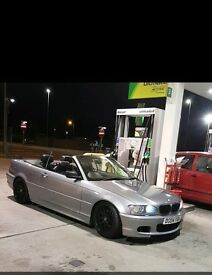 Bmw 318 convertible m sport 2.0 m3 csl alloys lowered coilovers modified