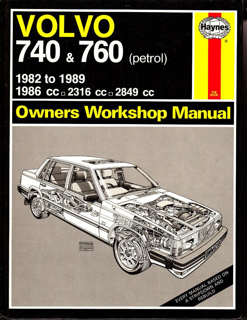 haynes volvo 740 & 760 service repair manual 1982 – 1989 petrol. Download  Image 791 X 1024