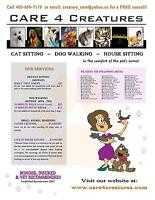 C4C PetSitting/DogWalking - First Visit Free!!